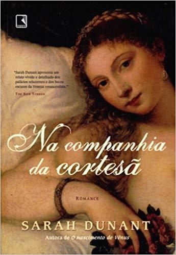 Capa de Livro: Na companhia da cortesã