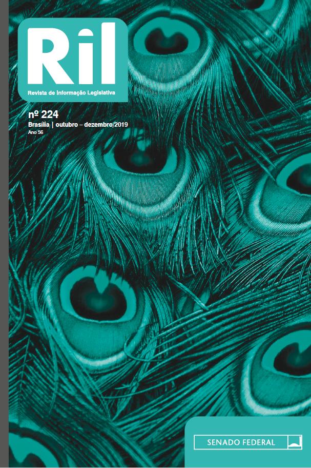 Capa de Livro: Revista de Informação Legislativa (dez. 2019)