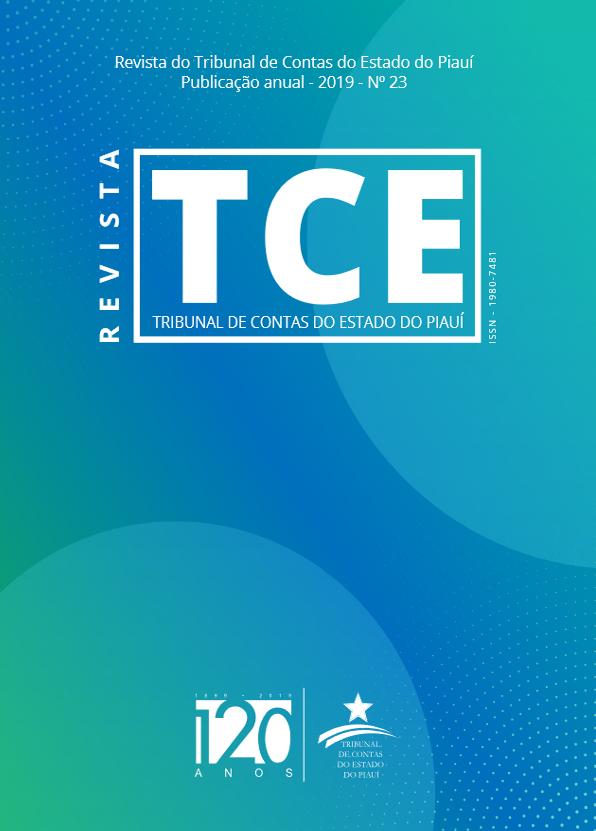 Capa de Livro: Revista TCEPI (2019)