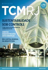 Capa de Livro: Revista TCMRJ (ago. 2019)