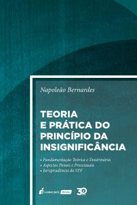 Capa de Livro: Teoria e prática do princípio da insignificância.