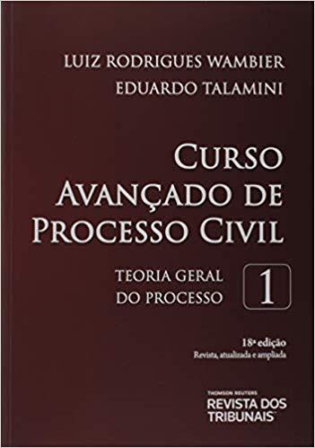 Capa de Livro: Curso avançado de processo civil (18. ed.)