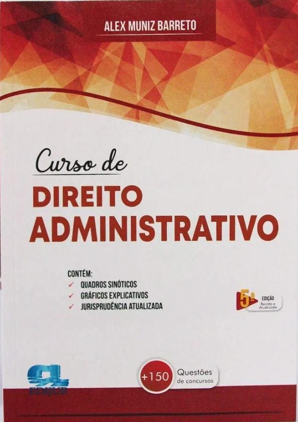 Capa de Livro: Curso de direito administrativo (5. ed)