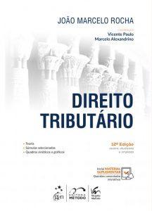 Capa de Livro: Direito tributário (12. ed.)
