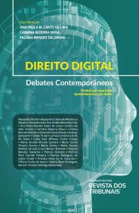 Capa de Livro: Direito digital: debates contemporâneos