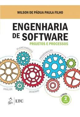 Capa de Livro: Engenharia de software (4. ed.)