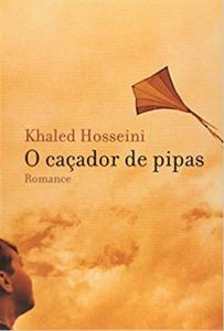 Capa de Livro: O caçador de pipas