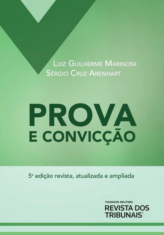 Capa de Livro: Prova e convicção (5 ed.)