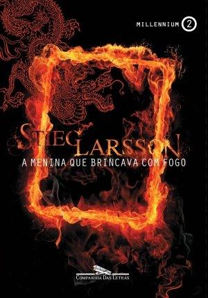 Capa de Livro: A menina que brincava com fogo