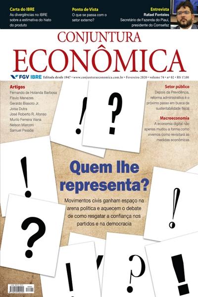 Capa de Livro: Conjuntura econômica (fev. 2020)