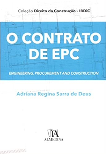 Capa de Livro: O contrato de EPC