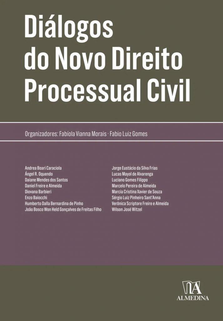 Capa de Livro: Diálogos do novo direito processual civil