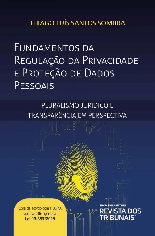 Capa de Livro: Fundamentos da regulação da privacidade e proteção de dados pessoais