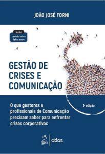 Capa de Livro: Gestão de crises e comunicação: o que gestores e profissionais de comunicação precisam saber para enfrentar crises corporativas