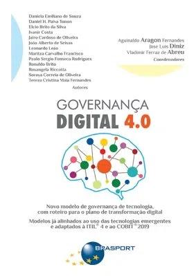 Capa de Livro: Governança digital 4.0