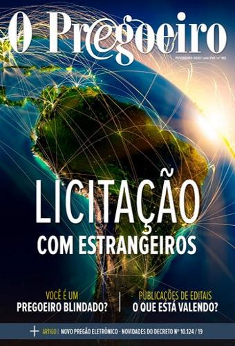 Capa de Livro: O Pregoeiro (fev. 2020)