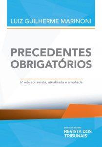 Capa de Livro: Precedentes obrigatórios (6 ed.)