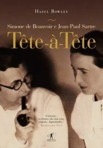 Capa de Livro: Tête-à-tête: Simone de Beauvoir e Jean-Paul Sartre