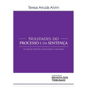 Capa de Livro: Nulidades do processo e da sentença (10 ed.)